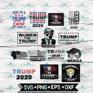 14 different TRUMP Svg, Trump Svg, Bundle, Cricut File, Svg, 4th of july