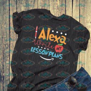 Alexa write my lesson plans, Alexa svg, teacher svg, teacher gift, apple, school, Svg