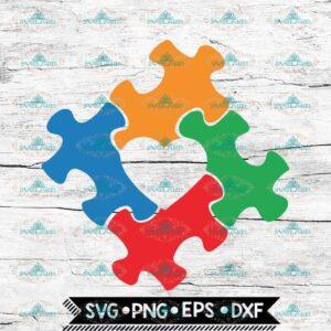 Autism Svg, Autism Puzzle Love Svg, Autism Awareness svg, Love Svg, Cricut File, Svg