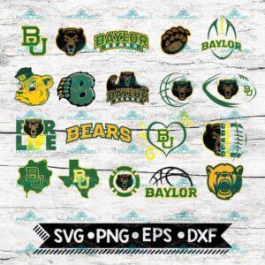 Baylor Svg, Baylor Logo, NCAA, Sport, Svg, Bundle