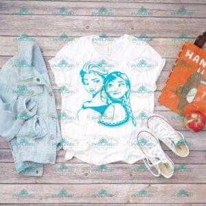 Elsa And Anna, Elsa Svg, Anna Svg, Disney princess, Disney Svg, Disneyland, svg