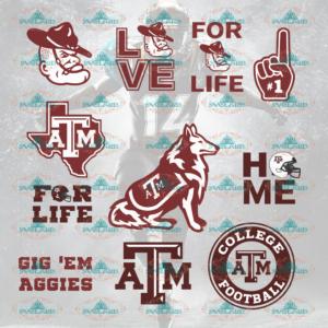 Texas AM Aggies, texas am aggies svg, texas, texas svg, texas aggies, texas am, college football svg, bundle file, NFL, NCAA