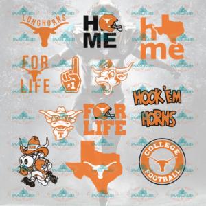 Texas Longhorns, Texas longhorns svg, texas longhorns logo, texas football, texas team, college football, bundle file, NFL, NCAA