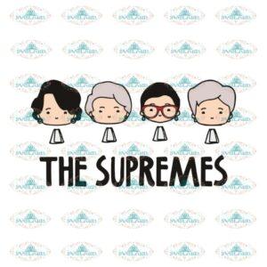 The Supremes Svg, Ruth Bader Ginsburg Svg, Notorious Svg, RBG Svg, Cricut File, Clipart 5