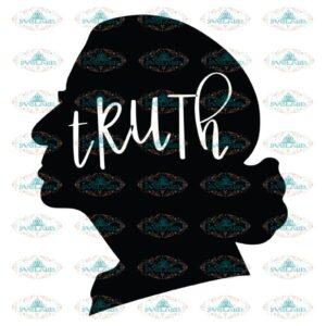 Truth Svg, Ruth Bader Ginsburg Svg, Notorious Svg, RBG Svg, Cricut File, Clipart